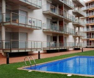 Apartamento   Rosas para 6 personas con piscina comunitaria y aere acondicionado p2