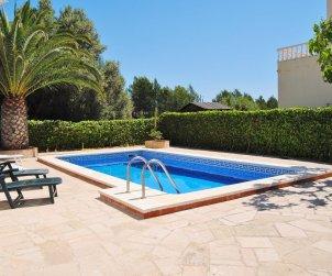Villa   Ametlla de Mar para 7 personas con piscina privada y internet p1