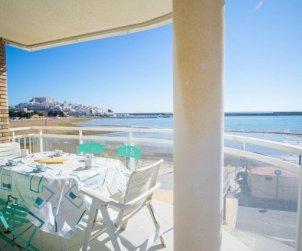 Apartamento   Peniscola para 6 personas con piscina comunitaria y bellavista mar p0