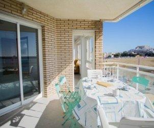 Apartamento   Peniscola para 6 personas con piscina comunitaria y bellavista mar p2