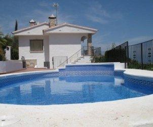 Villa   Peniscola para 8 personas con piscina privada y bellavista mar p0