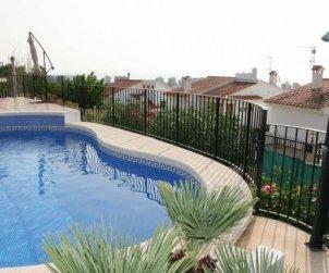 Villa   Peniscola para 8 personas con piscina privada y bellavista mar p1