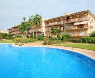 Apartamento   Sant Carles de la Rapita para 4 personas con piscina comunitaria p0