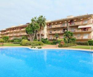 Apartamento   Sant Carles de la Rapita para 4 personas con piscina comunitaria p1