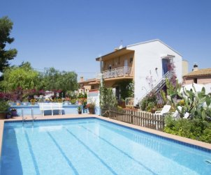 Villa   Camarles para 9 personas con piscina privada p1
