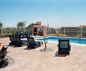 Villa   Alcanar para 9 personas con piscina privada p1