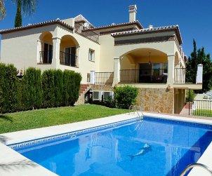 Villa   Mijas para 7 personas con piscina privada p0