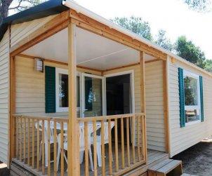 Camping casa móvil   Platja d'Aro para 3 personas con piscina comunitaria p2
