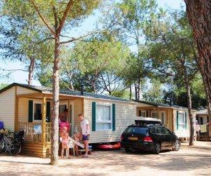 Camping casa móvil   Platja d'Aro para 3 personas con piscina comunitaria p1