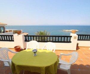 Apartamento   L'Escala para 6 personas con piscina comunitaria y vista mar p0