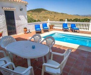 Villa   La Axarquía - Almogía para 6 personas con piscina privada p2