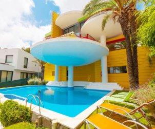 Villa   Sitges para 6 personas con piscina privada p1