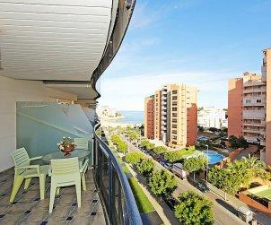 Apartamento   Benidorm para 2 personas con piscina comunitaria p1