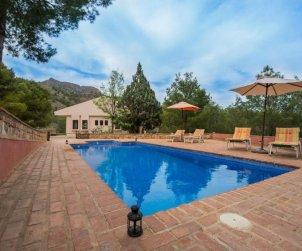 Villa   Totana para 7 personas con piscina privada p1