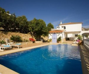 Villa   Callosa d´En Sarria - Confrides para 8 personas con piscina privada p0