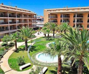 Apartamento   Javea para 4 personas con piscina comunitaria p0
