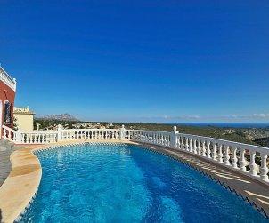 Villa   Moraira para 8 personas con piscina privada p0