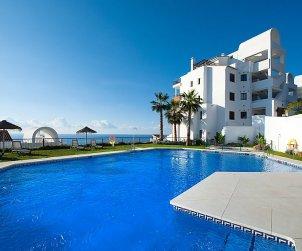 Apartamento   Torrox Costa para 4 personas con piscina privada p0
