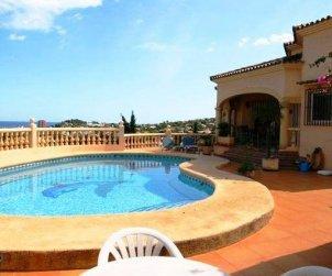 Villa   Denia para 4 personas con piscina privada p1