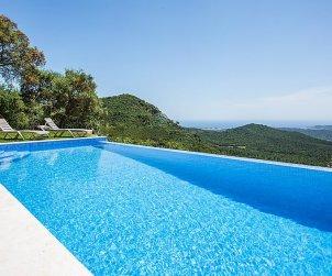Villa   Sta Cristina d'Aro para 8 personas con piscina privada p1