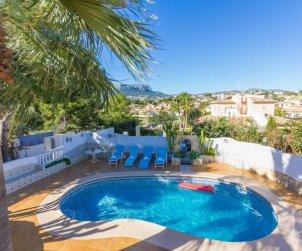Villa   Calpe para 8 personas con piscina privada y aere acondicionado p0
