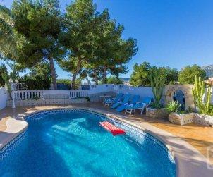 Villa   Calpe para 8 personas con piscina privada y aere acondicionado p1