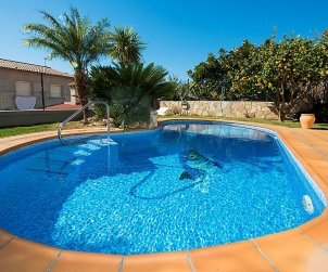 Villa   Segur de Calafell para 8 personas con piscina privada p0