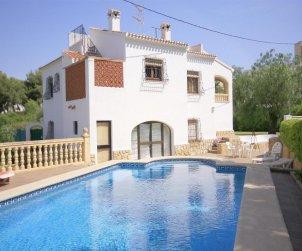 Villa   Javea para 6 personas con piscina privada y cerca del mar p0
