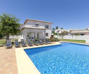 Villa   Denia para 8 personas con piscina privada p1