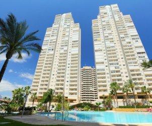 Apartamento   Benidorm para 3 personas con piscina comunitaria p1
