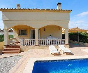 Villa   Deltebre  -  Riumar para 6 personas con piscina privada p0