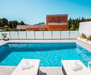 Villa moderna   Calpe para 6 personas con piscina privada y vista mar p2