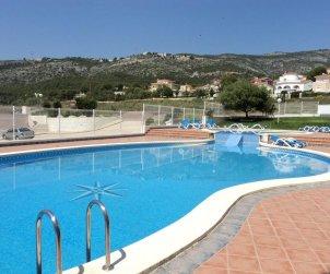 Apartamento   Alcocéber - Alcossebre para 8 personas con piscina comunitaria y aere acondicionado p1