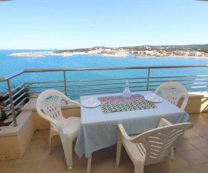 Apartamento  en L'Escala  para 4 personas con piscina compartida y vistas al mar  p0