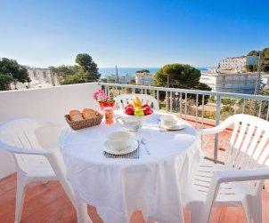 Apartamento   Rosas para 4 personas con panorámicas al mar p0