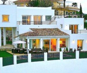 Villa   Marbella para 10 personas con panorámicas al mar p0