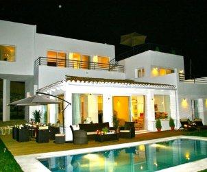 Villa   Marbella para 10 personas con panorámicas al mar p1