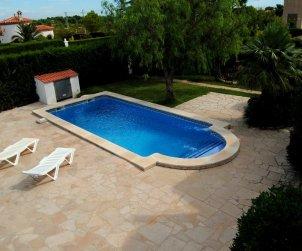 Villa  en Ametlla de Mar  para 6 personas con piscina privada  p0