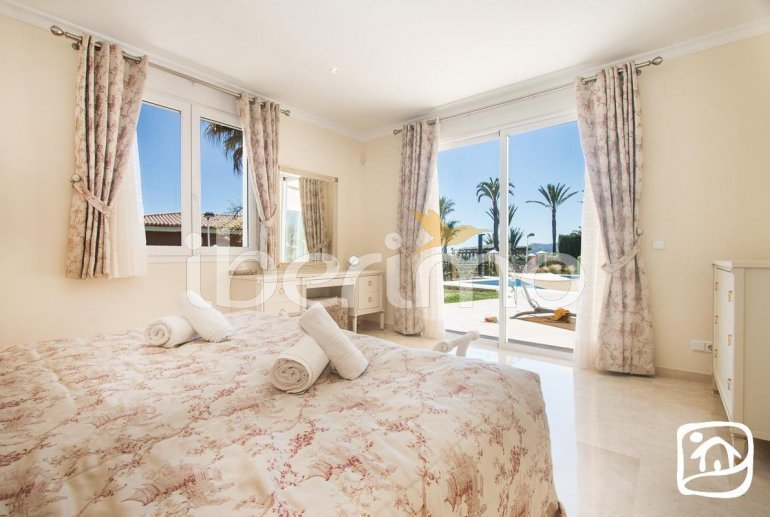 Villa  en Moraira  para 6 personas con piscina privada, vista mar y aire acondicionado  p9