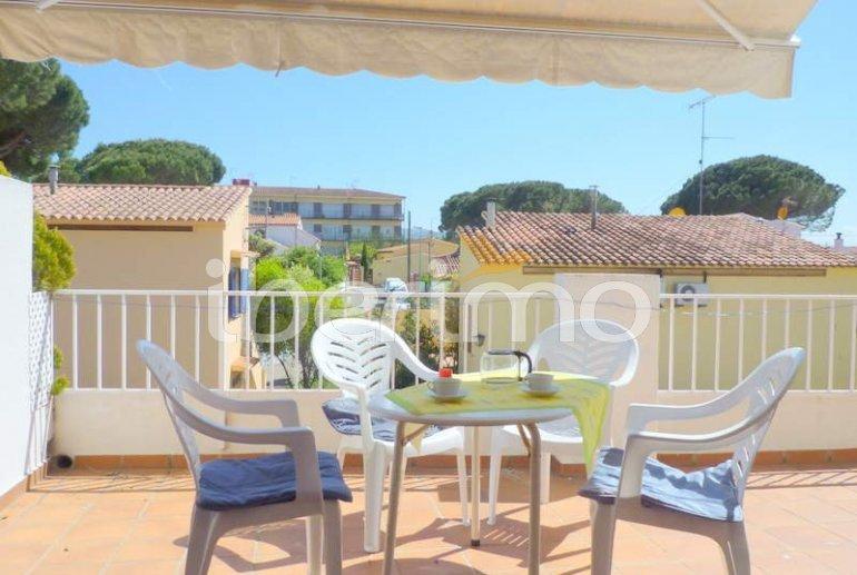 Apartamento  en l'Escala  para 6 personas con piscina comunitaria, parking y cerca del mar  p1