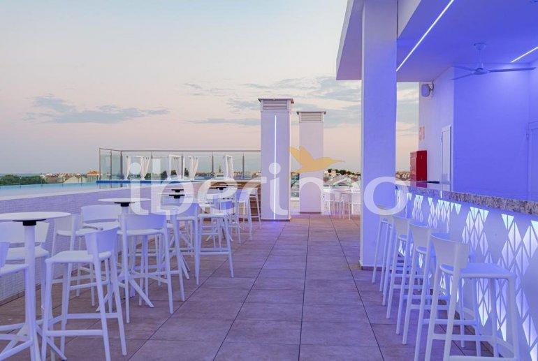 Apartamento  en Alcossebre  para 5 personas en complejo hotelero con piscina comunitaria en primera línea de mar  p21