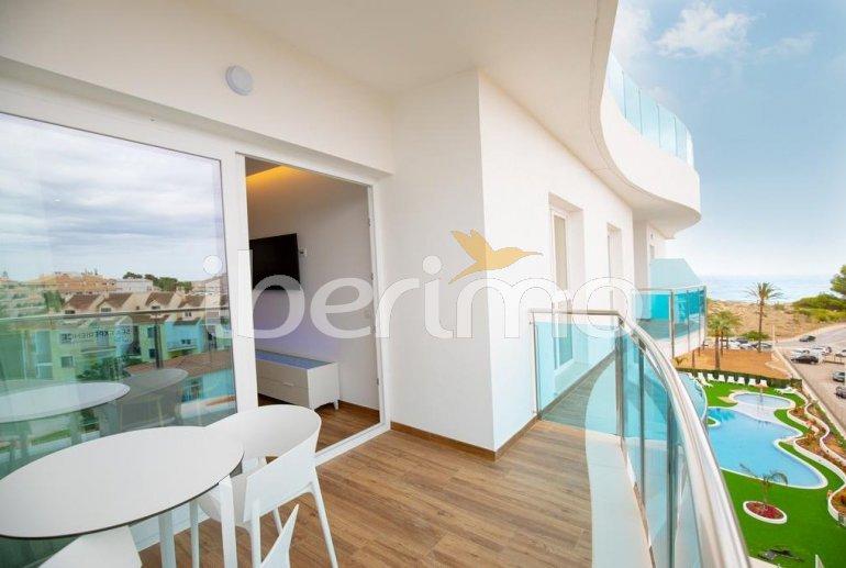 Apartamento  en Alcossebre  para 5 personas en un complejo hotelero con piscina comunitaria y vistas laterales al mar  p7