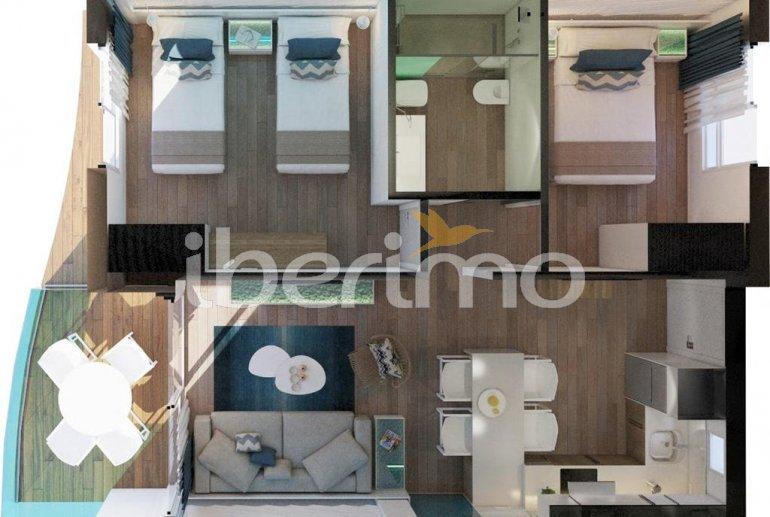 Apartamento  en Alcossebre  para 5 personas en un complejo hotelero con piscina comunitaria y vistas laterales al mar  p17