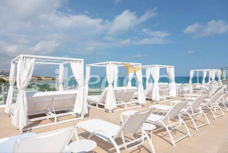 Apartamento  en Alcossebre  para 5 personas en un complejo hotelero con piscina comunitaria y vistas laterales al mar  p21