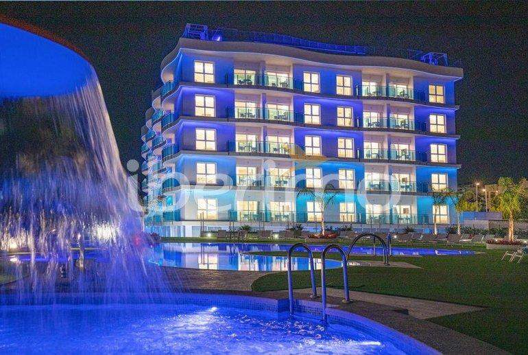 Apartamento  en Alcossebre  para 5 personas en un complejo hotelero con piscina comunitaria y vistas laterales al mar  p4