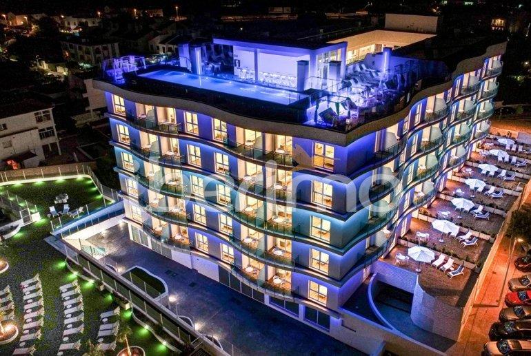 Apartamento  en Alcossebre  para 5 personas en un complejo hotelero con piscina comunitaria y vistas laterales al mar  p3