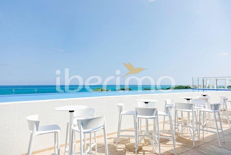 Apartamento  en Alcossebre  para 5 personas en un complejo hotelero con piscina comunitaria y vistas laterales al mar  p24