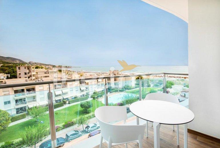 Apartamento  en Alcossebre  para 5 personas en un complejo hotelero con piscina comunitaria y vistas laterales al mar  p5