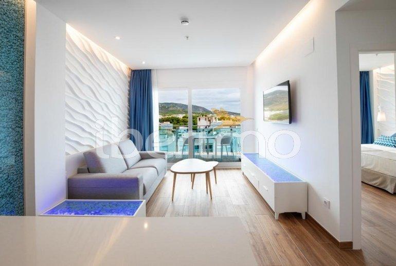 Apartamento  en Alcossebre  para 5 personas en un complejo hotelero con piscina comunitaria y vistas laterales al mar  p8