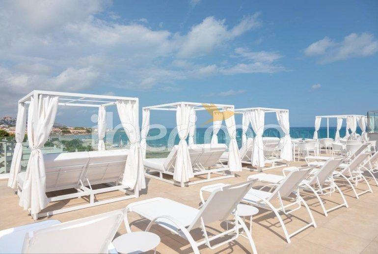 Apartamento familiar  en Alcossebre  para 5 personas en un complejo hotelero con piscina comunitaria y vistas directas al mar  p18